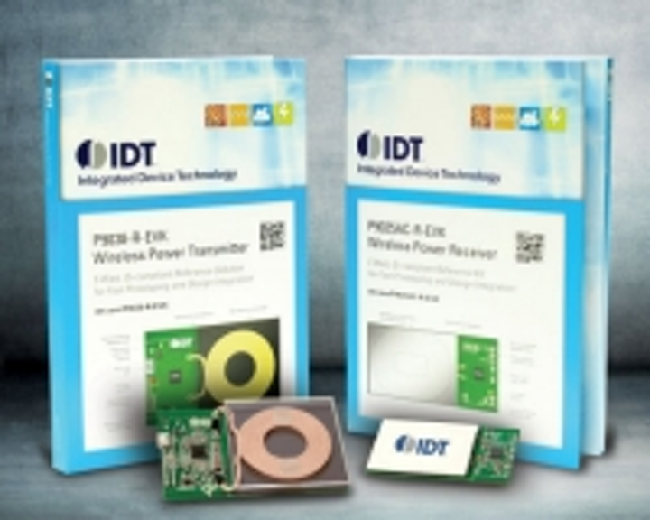 Turnkey wireless power kits ease charging for IoT designs