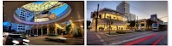Samsung video surveillance platform posted to Houston's premier entertainment area