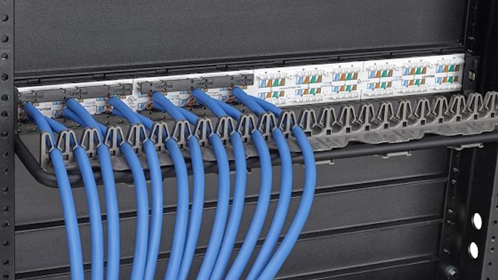 Leviton's new cable management clip streamlines installation, maintenance tasks