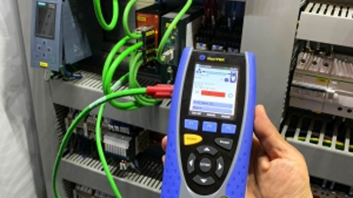 According to Ideal Networks, the handheld NaviTEK IE offers an easier test process in desk-free industrial networks than the traditional laptop-based process that also required specialized software.