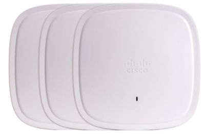 Cisco's Catalyst 9100 and Meraki MR 45/55 access points offer the capacity and latency improvements that come with 802.11ax WiFi 6 technology.