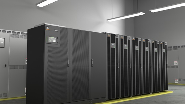 Vertiv's lithium-ion battery cabinet works with large capacity UPS units, fits standard data center rack