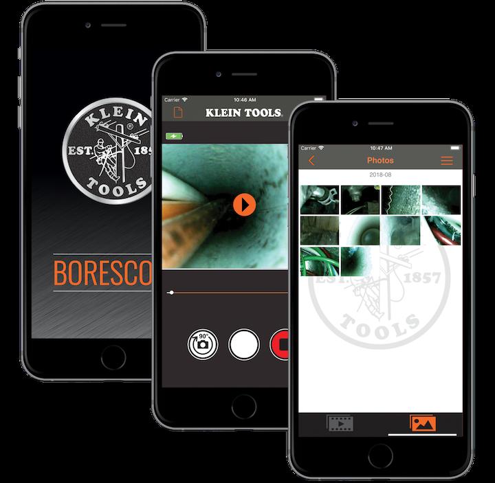 Klein Borescope App Store Screenshots Combined