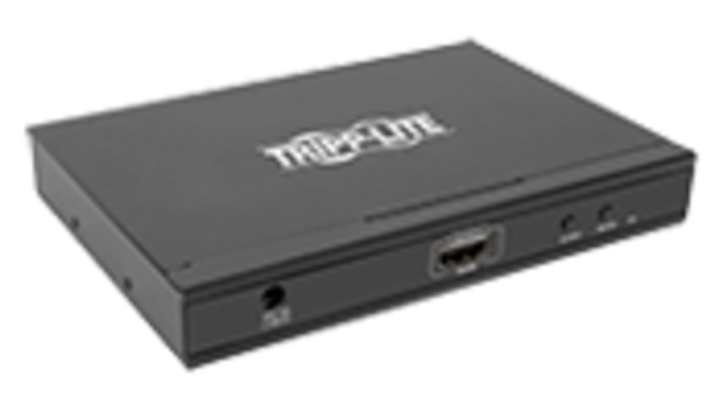 Multi-viewer switch monitors audio/video from 4 HDMI sources on a single display