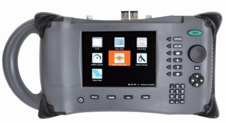 Fiber Instrument Sales' Thunder Bolt OTDR performs 7 functions: 1) OTDR, 2) Gigabit analyzer, 3) End-of-fiber checker, 4) Power meter, 5) Visual fault locator, 6) Reporting tool, 7) Connector inspector.