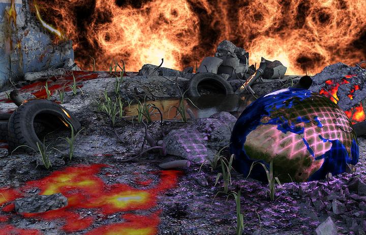 Earth Burnout Pixabay
