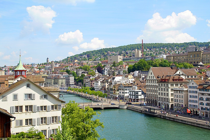 Zurich, Switzerland - Limmat River