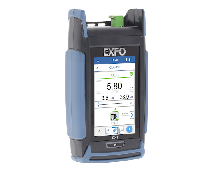 Optical Xplorer validates link quality and explores only faulty links. EXFO calls this new tester the optical fiber multimeter, OFM.