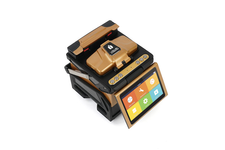 INNO Instrument's View 8+ is a core-alignment fusion splicer with a 5-inch HD LCD monitor, and an accompanying mobile app that provides practical functions and capabilities.