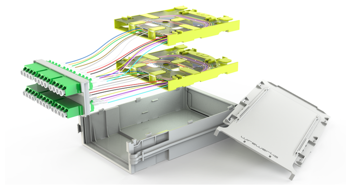The NextSTEP 3-Series Modules (3S Modules) are designed to enable simplified cable management installations and maintenance via a fast, toolless, slide-in/slide-out installation process and easy front panel port access.