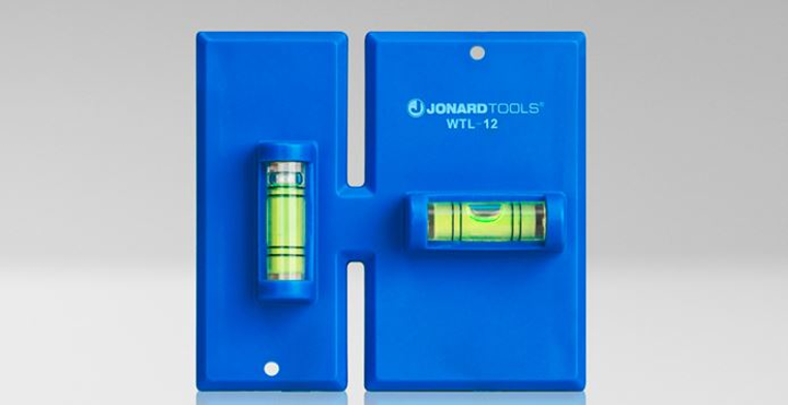 Jonard Tools' Wallbox Template Leveler is designed for cutting out single- and double-gang work boxes.