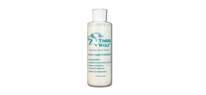Timber Wolf is a waterless cleaner that removes the 'icky-pick' of a fiber-optic cable from an installer's hands.