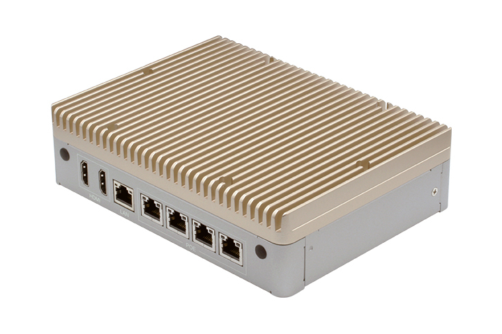 Optimized for AI edge applications, the BOXER-8170AI embedded box PC features the powerful NVIDIA Jetson TX2 6-core processor.