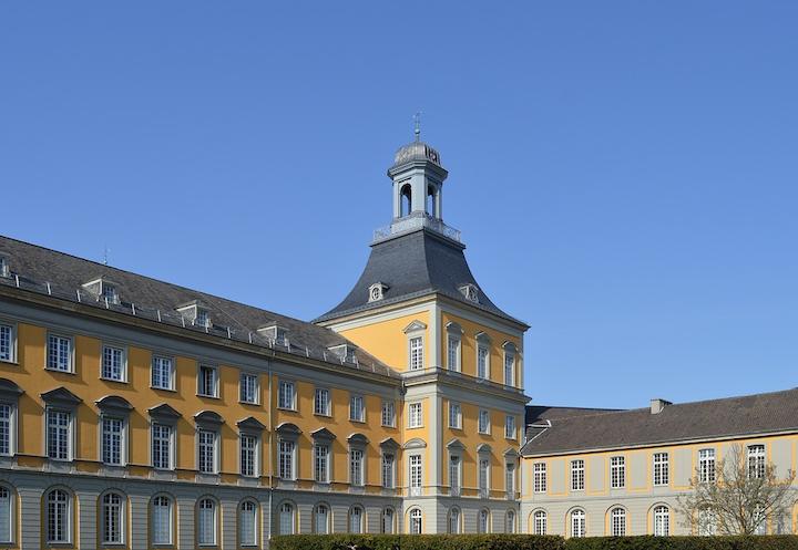 University architecture in Bonn, Germany.