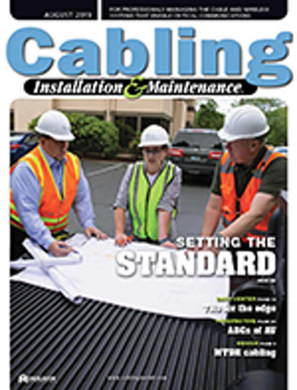 Cabling Installation & Maintenance Volume 27, Issue 8
